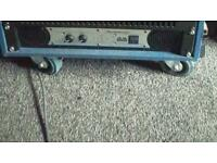 Studiomaster 3500 watt power amp, amplifier, speaker, subwoofer, PA