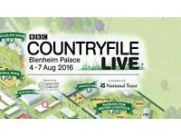 COUNTRY FILE LIVE TICKETS FAMILY