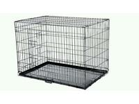 Xl Dog Crate.. Black..