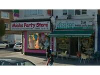 Busy high street shop to let share