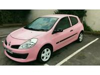 Pink Renault clio automatic rare