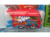 LOST Hotwheels car red funky campervan with spoiler lost near infant school drayton