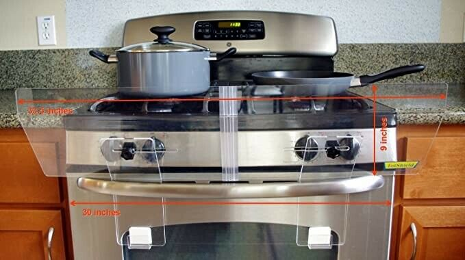 TotShield Stove Guard for Free Standing Gas and Electric Stove See pics