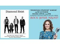 Diamond Heist and Chloe Castro (voice 2016) 'Durham student'union'