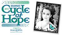 REANNAS CYCLE OF HOPE - 2015