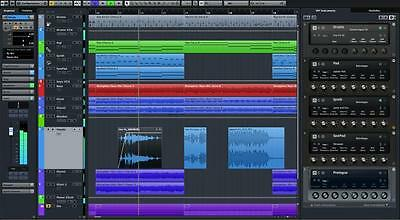 Steinberg Cubase LE 9 + Waves TrueVerb Reverb  Plugin - New