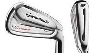 BRAND NEW TAYLORMADE TOUR PREFERRED MC IRONS