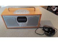 Logik DAB and FM stereo radio model LOGR118D