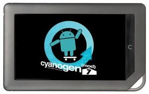 8GB Nook Color CyanogenMod 7 Gingerbread Rooted Android 2.3 MicroSD SD card CM7