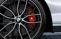 BMW M Performance rims and tires