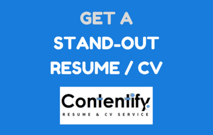 Contentify | Top Resume, CV and Cover Letter Writing Service