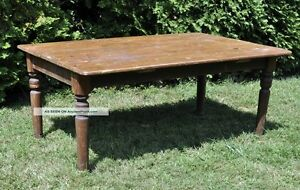 WANTED Old wooden tables