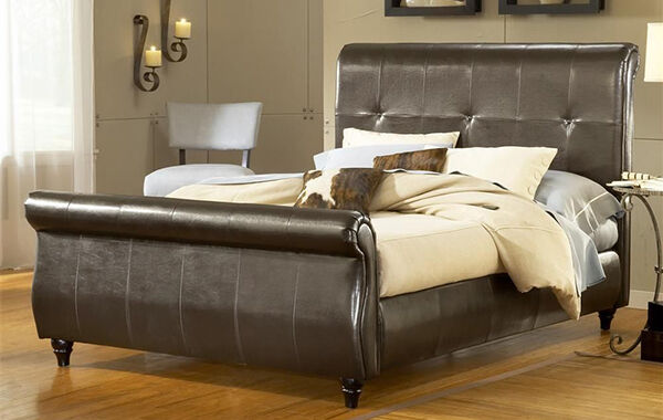 Leather Sleigh Bed Buying Guide