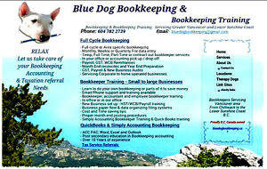 Bluedog Bookkeeping & Bookkeeping Training ~ Tax Preparation