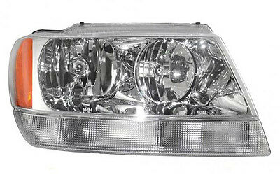 HEADLIGHT ASSEMBLY 99-04 JEEP GRAND CHEROKEE LIMITED RH