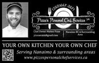 -Travelling to Nanaimo for the Summer? Hire a Personal Chef!