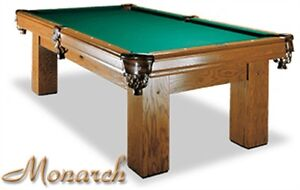 Mint condition pool table 'Monarch Special Edition'