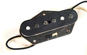 NEW Lindy Fralin Tele Blues Special Bridge PICKUP Black for Fender Telecaster