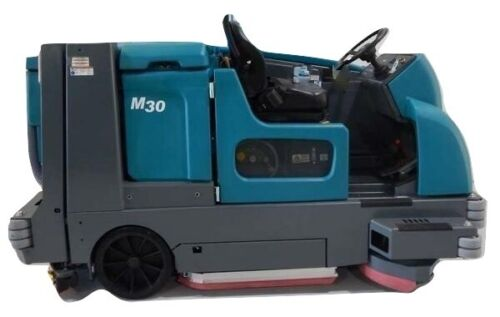 Reconditioned  Tennant M30 propane powered rider sweeper/scrubber