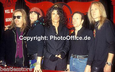 Aerosmith Steven Tyler in London 1993 seltenes 30x45cm Konzert Tour Foto Poster