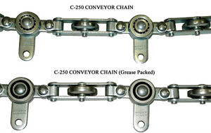 Bridgeveyor C- 250 TM Overhead Conveyor Chain/Stainless Steel