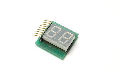 Agilent Qdsm-553a Dual 7-segment 14.22mm On Board Lcd Display New Lot Quantity-2