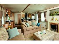 Residential specification luxury caravan for sale at Sundrum Castle Holiday Park - reduced