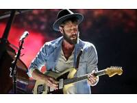 *Face Value* Ray Lamontagne Tickets - BEST STALL SEATS - Hammersmith Apollo, London - 16th May 2018