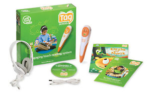 New LeapFrog Tag Reader Bundle- Includes Headphones & Double the Memory - 64MB