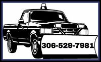 Residential Snow Removal. 306-529-7981