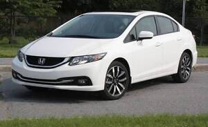 2014 Honda Civic Touring Sedan PRIVATE SALE NO G.S.T