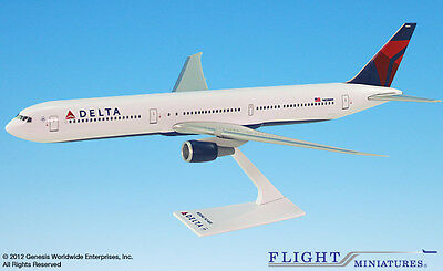 Flight Miniatures Delta Airlines Boeing 767 400 1 200 Scale Model With Stand