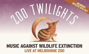 2 tickets to The Reuben's at the Zoo Twilight Coburg North Moreland Area Preview