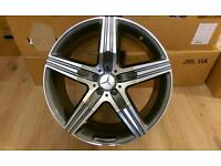 "NEW 20"" MERCEDES ML/GL STYLE ALLOY WHEELS( 5X112)"