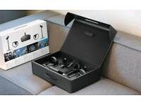 Oculus Rift VR Headset, touch controllers, two montion sensors and a Bluetooth wireless xbox one pad