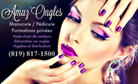 FORMATION : Technicienne en pose d'ongles