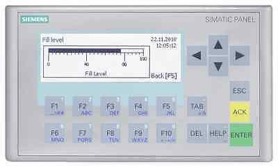Siemens 6av6647-0ah11-3ax0 Simatic Hmi Kp300 Basic Mono Pn Panel