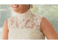 Wedding Dress size 10 v good condition