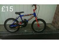 Boys Raleigh creepy bike