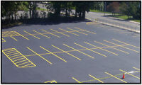Parking Lot Line Painting - Pavement Marking