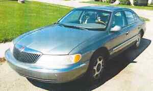 2000 Lincoln Continental Sedan FOR PARTS