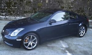 Safety and Etest included! G35 Midnight Blue Coupe (2 door)