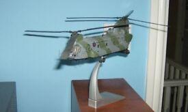 Corgi Model Aircraft. 1:72 Chinook HC 1. ZA718 of 18 Sqn (Falklands War veteran)