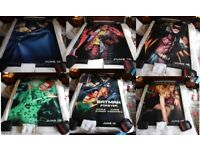 VERY RARE - Batman Forever Original Bus Shelter Posters 1995 - Complete set of 7