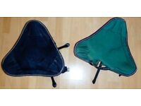 Bargain portable fold out chairs with carry straps