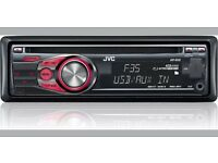 JVC KD-R35 car vehicle CD player aux auxiliary head unit receiver stereo music