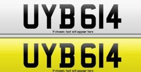 UYB 615 Private Registration For Sale