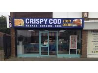 URGENT FISH AND CHIP SHOP STAFF REQUIRED