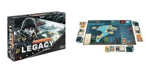 Pandemic Legacy Season 2 Board game NEW FACTORY SEALED Black