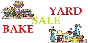 LARGE (Multi-Family) YARD and Bake Sale Saturday May 27th 730-12